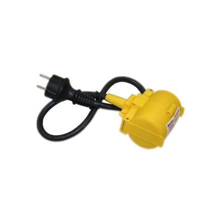 GRENUTTAG 2-V M LOCK 0.5M H07RN-F 3G1,5MM RDOE