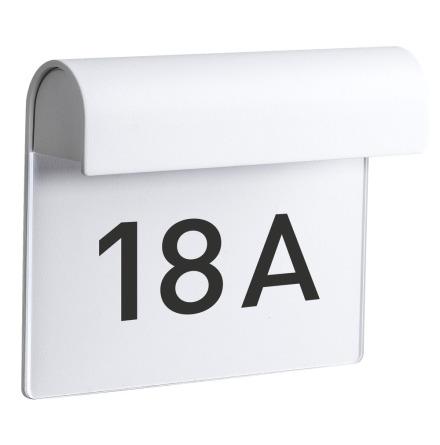Airam Dal IP54 Husnummerarmatur Vit