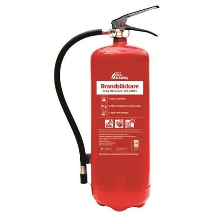 Nexa Brandsläckare Röd 12kg Pulver