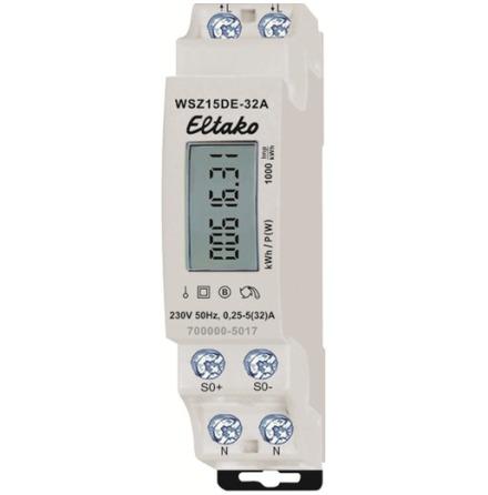Eltako Energimätare 1-fas 32A Eko WSZ15DE-32A