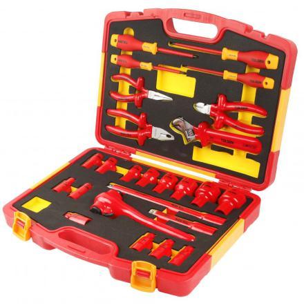 Isolerat verktygsset 1000V  handverktyg