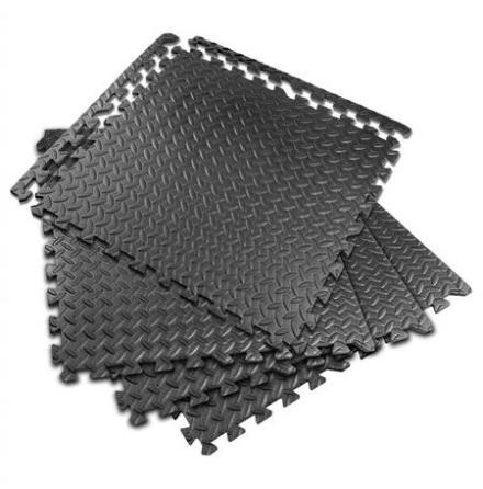 Gummimatta mjuk EVA-foam 4-pak 600x600x10mm