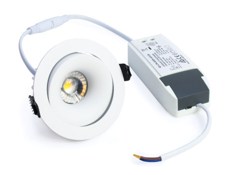 Xerolight Comfort LED Downlight 10W VIT Inkl. Driver