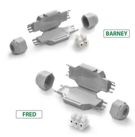 Gel/Kabelskarv Barney/Fred Raytech
