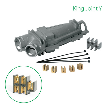 King Joint Y Raytech Kabel- Grenskarv