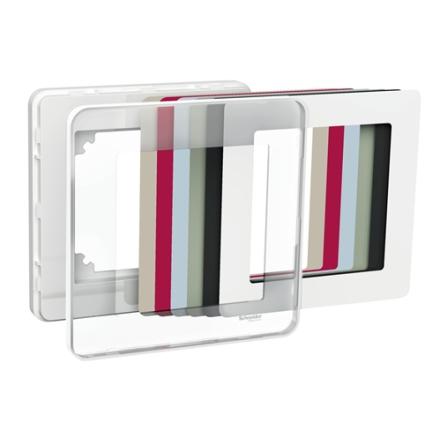 Exxact DESIGN, ram med transparent front och färginlägg