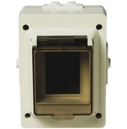Aqua-Stark Kapsling IP44 m DIN-skena