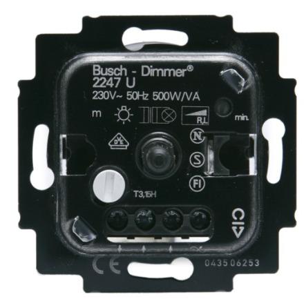 ABB Dimmer för glödljus 20-500VA