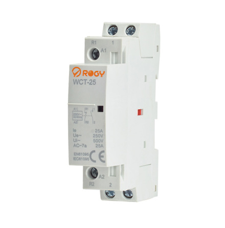 Rogy Normkontaktor 2-pol 25A 230V 1-modul WCT