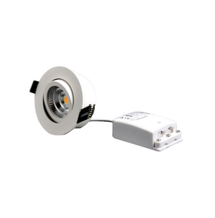 Designlight Q-2MW Tilt 2700K IP44 inkl. drivdon