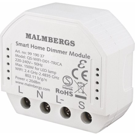 Malmbergs Wi-Fi Smart Dosdimmer 150W LED