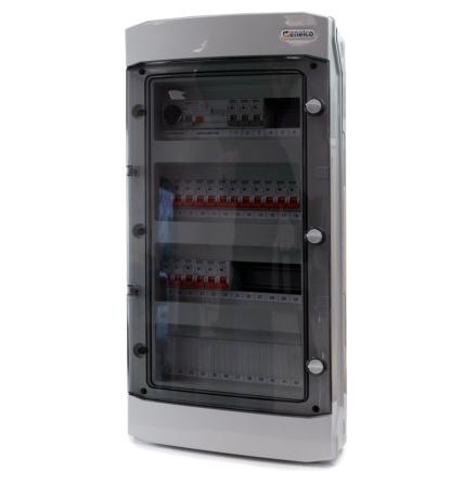 Rogy Förmonterad IP65 4-radig 48 moduler