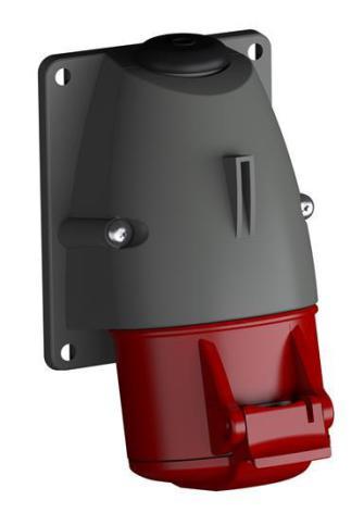 ABB CEE Vägguttag 416-RS6 3P+N+E IP44