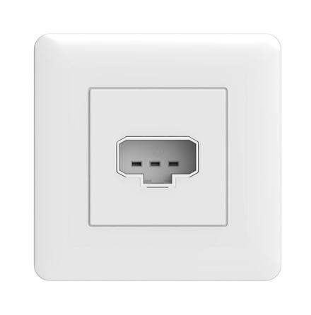 Schneider lamputt kompl DCL vägg inf vit