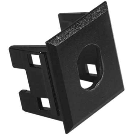 Schneider Actassi Montageram Fiber ST/F-don Svart