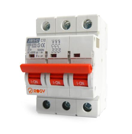 ROGY Automatsäkring 2-pol C-karaktär 10-32A