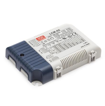 MeanWell LED Driver LCM-60 60W 1400mA 1-10V