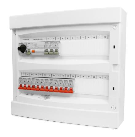 ROGY Förmonterad Normcentral 36 moduler