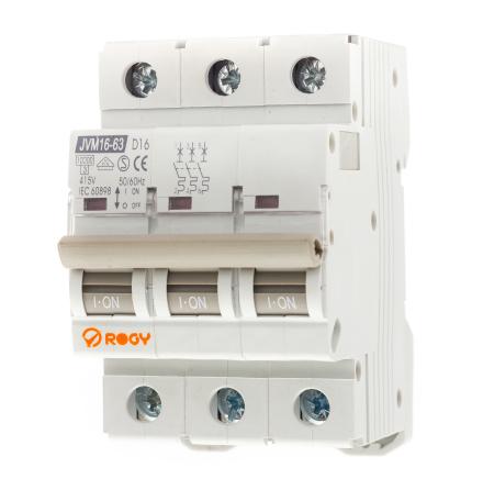 ROGY Automatsäkring 3-pol D-karaktär 16-20A