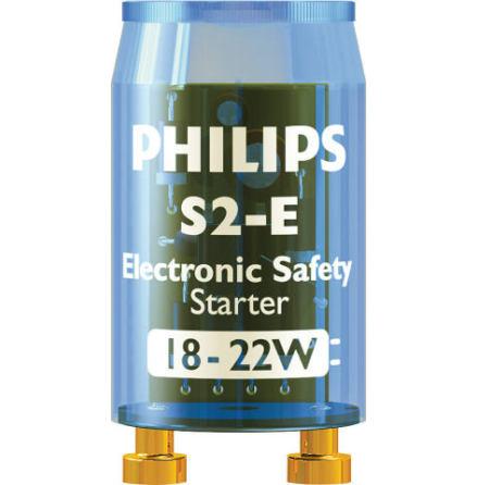 Philips Elektronisk säkerhetständare för lysrör S10E / S2E
