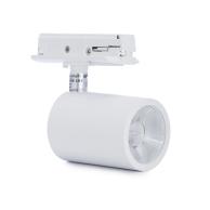 Xerolight Chester Spotline 8W LED Matt VIT/SVART  1-fas 50°