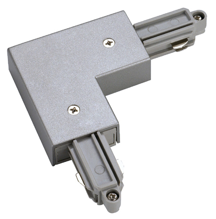 Hörn Anslutning/skarv silver (Skarv=höger Anls=vänster 1-fas)