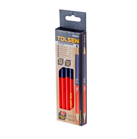 Snickarpenna 12-pack två-färgade