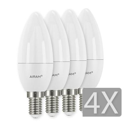 Airam LED Kron E14 4-pack 5,5W
