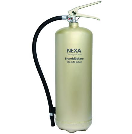 Nexa Brandsläckare 6kg Pulver