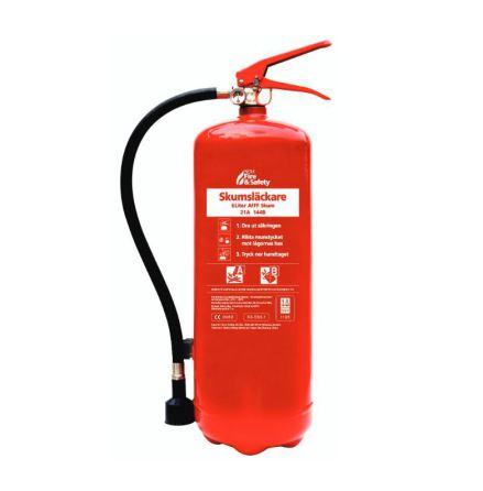Nexa Brandsläckare Röd 6L Skum